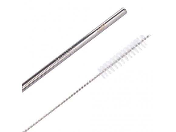 Kit Canudo Metal Com Limpador – Prata Uatt?