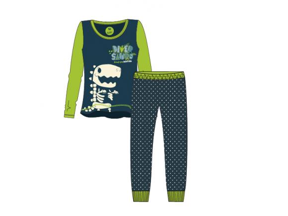 Pijama Fosforescente Longo Infantil Masculino 10 – Diverssauro Uatt?