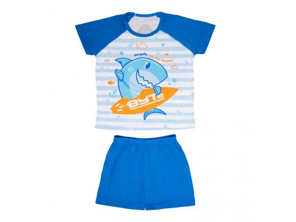 Pijama Short Infantil Masculino 10 – Tubarão Byte Uatt?